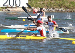 FERNANDO PIMENTA (POR) winner K1 1000m and 5000m