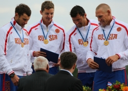 HAPPY RUSSIAN K4 WINNING 1000m