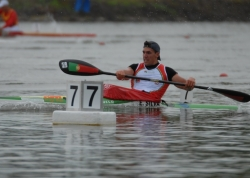 EMANUEL SILVA (POR) 2nd in K2 500m