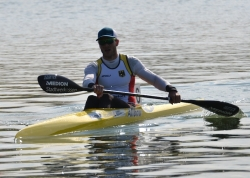 MAX HOFF (GER ) WINNER in K1 Men 1000m