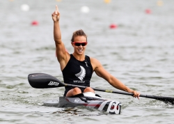 LISA CARRINGTON (NZL) WORLD CHAMPION and NEW WORLD RECORD HOLDER in K1 200m, SILVER MEDALIST IN K1 500m