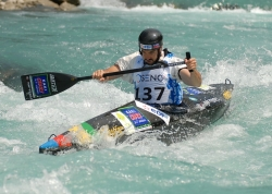 ALZINGRE GUILLAUME (FRA) SILVER IN C1 DOUBLE GOLD IN TEAM RACE