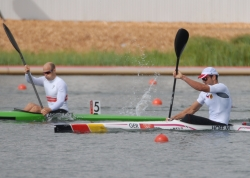 MAX HOFF and EIRIK LARSEN CONTROL EACH OTHER BY SEMI FINAL, ON THE END EIRIK GOLD, MAX BRONZE