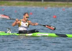 MAX HOFF (GER) 2nd in K1 5000m