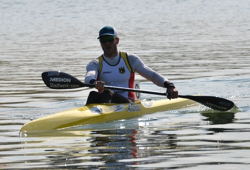MAX HOFF (GER) 1nd in K1 1000m