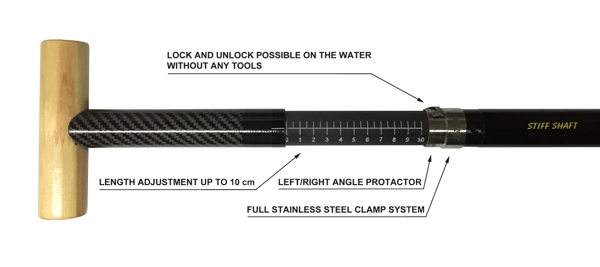 Adjustable CLAMP shaft